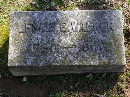 WALKER, LESLIE E. - Erie County, Ohio | LESLIE E. WALKER - Ohio Gravestone Photos