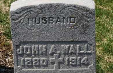 WALL, JOHN A. - Erie County, Ohio   JOHN A. WALL - Ohio Gravestone Photos