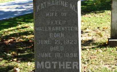 WALLRABENSTEIN, PETER - Erie County, Ohio   PETER WALLRABENSTEIN - Ohio Gravestone Photos