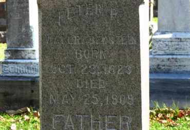 WALLRABENSTEIN, PETER P. - Erie County, Ohio   PETER P. WALLRABENSTEIN - Ohio Gravestone Photos