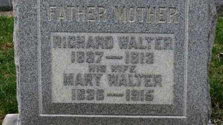 WALTER, RICHARD - Erie County, Ohio | RICHARD WALTER - Ohio Gravestone Photos