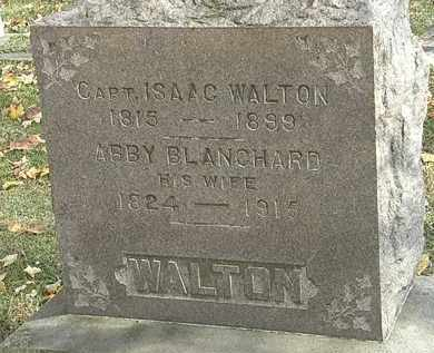 BLANCHARD WALTON, ABBY - Erie County, Ohio | ABBY BLANCHARD WALTON - Ohio Gravestone Photos
