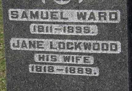 LOCKWOOD WARD, JANE - Erie County, Ohio | JANE LOCKWOOD WARD - Ohio Gravestone Photos