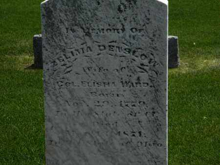 DENSLOW WARD, ZELIMA - Erie County, Ohio   ZELIMA DENSLOW WARD - Ohio Gravestone Photos