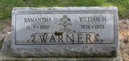 WARNER, SAMANTHA - Erie County, Ohio | SAMANTHA WARNER - Ohio Gravestone Photos