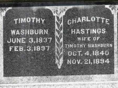 WASHBURN, TIMOTHY - Erie County, Ohio | TIMOTHY WASHBURN - Ohio Gravestone Photos