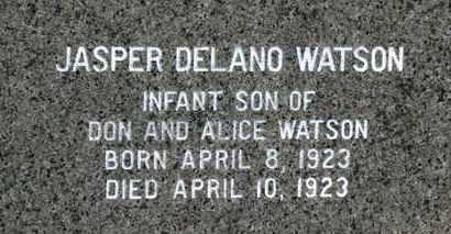 WATSON, DON - Erie County, Ohio   DON WATSON - Ohio Gravestone Photos