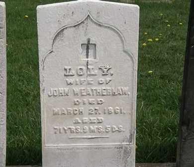 WEATHERLAW, JOHN - Erie County, Ohio   JOHN WEATHERLAW - Ohio Gravestone Photos
