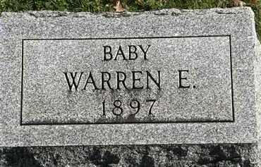 WEBBER, WAREN E. - Erie County, Ohio | WAREN E. WEBBER - Ohio Gravestone Photos