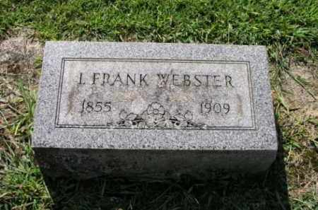 WEBSTER, ISAAC FRANKLIN - Erie County, Ohio | ISAAC FRANKLIN WEBSTER - Ohio Gravestone Photos