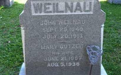 WEILNAU, MARY - Erie County, Ohio   MARY WEILNAU - Ohio Gravestone Photos