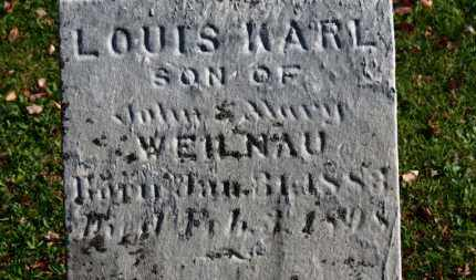 WEILNAU, LOUIS KARL - Erie County, Ohio | LOUIS KARL WEILNAU - Ohio Gravestone Photos