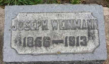 WEINMANN, JOSEPH - Erie County, Ohio | JOSEPH WEINMANN - Ohio Gravestone Photos