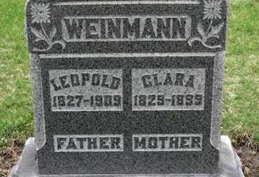 WEINMANN, CLARA - Erie County, Ohio | CLARA WEINMANN - Ohio Gravestone Photos