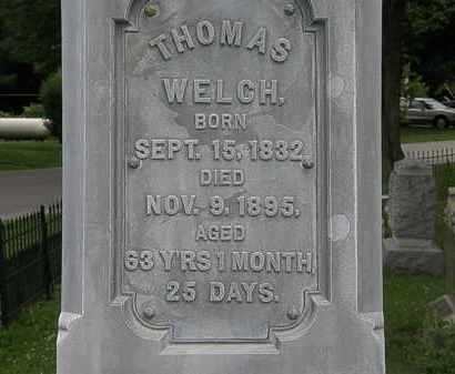 WELCH, THOMAS - Erie County, Ohio | THOMAS WELCH - Ohio Gravestone Photos
