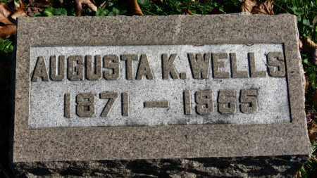 WELLS, AUGUSTA K. - Erie County, Ohio | AUGUSTA K. WELLS - Ohio Gravestone Photos