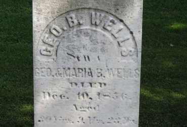 WELLS, GEO. - Erie County, Ohio | GEO. WELLS - Ohio Gravestone Photos