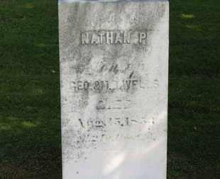 WELLS, NATHAN P. - Erie County, Ohio   NATHAN P. WELLS - Ohio Gravestone Photos