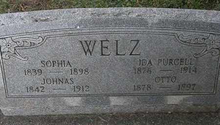 WELZ, SOPHIA - Erie County, Ohio | SOPHIA WELZ - Ohio Gravestone Photos