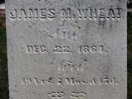WHEAT, JAMES M. - Erie County, Ohio | JAMES M. WHEAT - Ohio Gravestone Photos