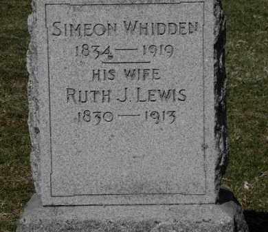 WHIDDEN, RUTH J. - Erie County, Ohio | RUTH J. WHIDDEN - Ohio Gravestone Photos