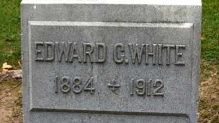 WHITE, EDWARD C. - Erie County, Ohio   EDWARD C. WHITE - Ohio Gravestone Photos