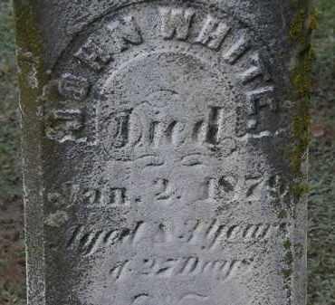 WHITE, JOHN - Erie County, Ohio | JOHN WHITE - Ohio Gravestone Photos
