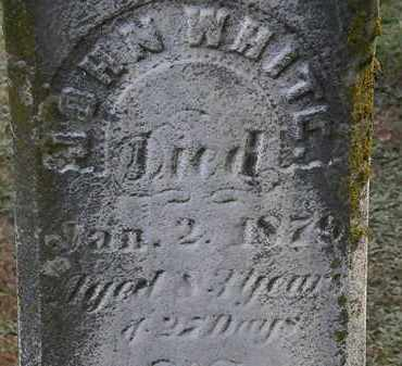 WHITE, JOHN - Erie County, Ohio | JOHN WHITE - Ohio Gravestone Photos