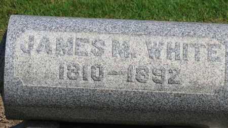 WHITE, JAMES M. - Erie County, Ohio | JAMES M. WHITE - Ohio Gravestone Photos