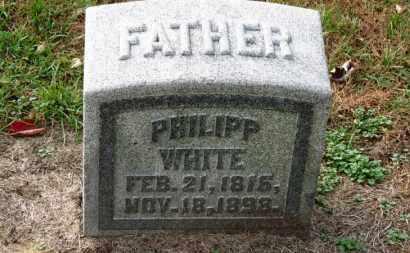 WHITE, PHILIPP - Erie County, Ohio   PHILIPP WHITE - Ohio Gravestone Photos