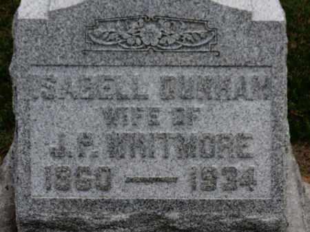 DUNHAM WHITMORE, ISABELL - Erie County, Ohio | ISABELL DUNHAM WHITMORE - Ohio Gravestone Photos