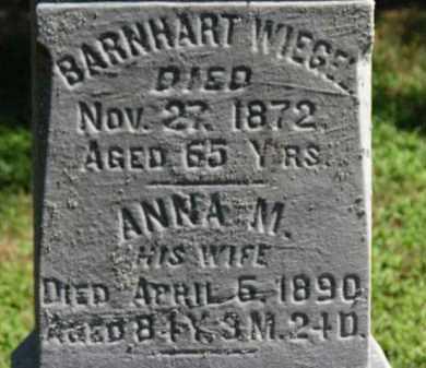 WIEGEL, BARNHART - Erie County, Ohio | BARNHART WIEGEL - Ohio Gravestone Photos