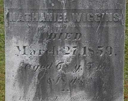 WIGGINS, NATHANIEL - Erie County, Ohio   NATHANIEL WIGGINS - Ohio Gravestone Photos