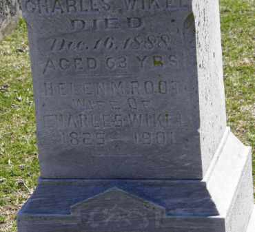 WIKEL, CHARLES - Erie County, Ohio   CHARLES WIKEL - Ohio Gravestone Photos