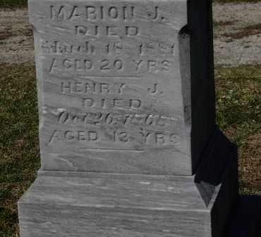 WIKEL, MARION J. - Erie County, Ohio   MARION J. WIKEL - Ohio Gravestone Photos