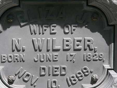WILBER, ELIZA J. - Erie County, Ohio | ELIZA J. WILBER - Ohio Gravestone Photos