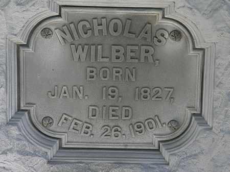 WILBER, NICHOLAS - Erie County, Ohio | NICHOLAS WILBER - Ohio Gravestone Photos