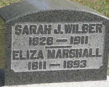 MARSHALL, ELIZA - Erie County, Ohio | ELIZA MARSHALL - Ohio Gravestone Photos