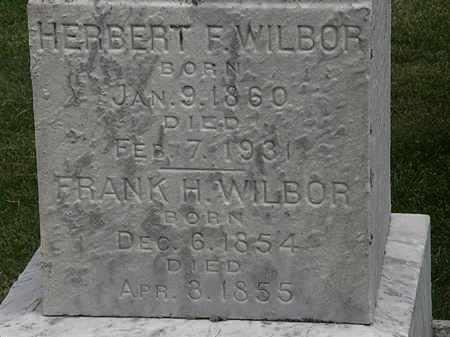 WILBOR, HERBERT F. - Erie County, Ohio | HERBERT F. WILBOR - Ohio Gravestone Photos