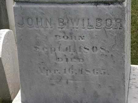 WILBOR, JOHN B. - Erie County, Ohio | JOHN B. WILBOR - Ohio Gravestone Photos