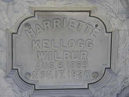 KELLOG WILBUR, HARRIETTE - Erie County, Ohio | HARRIETTE KELLOG WILBUR - Ohio Gravestone Photos