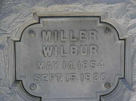 WILBUR, MILLER - Erie County, Ohio   MILLER WILBUR - Ohio Gravestone Photos