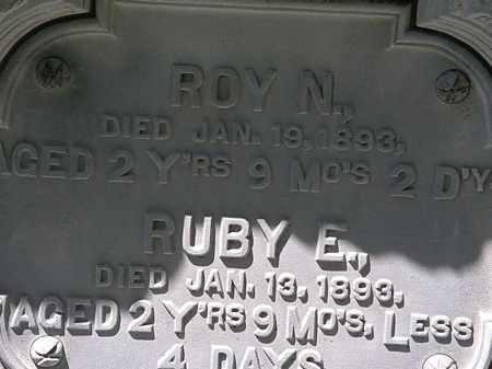 WILBUR, ROY N. - Erie County, Ohio   ROY N. WILBUR - Ohio Gravestone Photos