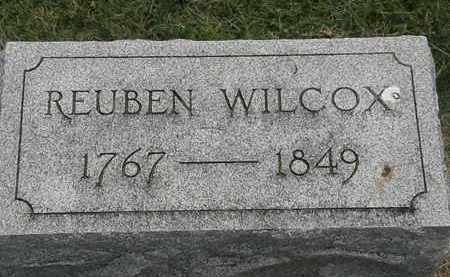 WILCOX, REUBEN - Erie County, Ohio | REUBEN WILCOX - Ohio Gravestone Photos