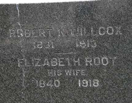 WILLCOX, ELIZABETH - Erie County, Ohio | ELIZABETH WILLCOX - Ohio Gravestone Photos