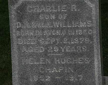 CHAPIN, HELEN - Erie County, Ohio | HELEN CHAPIN - Ohio Gravestone Photos