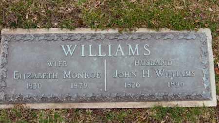 MONROE WILLIAMS, ELIZABETH - Erie County, Ohio | ELIZABETH MONROE WILLIAMS - Ohio Gravestone Photos