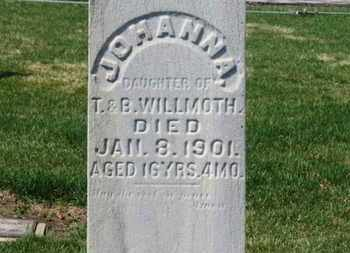 WILLMOTH, B. - Erie County, Ohio | B. WILLMOTH - Ohio Gravestone Photos