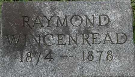 WINCENREAD, RAYMOND - Erie County, Ohio | RAYMOND WINCENREAD - Ohio Gravestone Photos