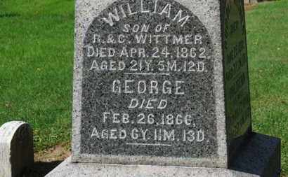 WITTMER, WILLIAM - Erie County, Ohio | WILLIAM WITTMER - Ohio Gravestone Photos